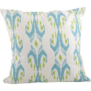 Ikat Design Printed Throw Pillow