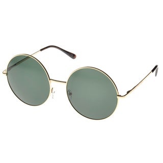 EPIC Eyewear 'Wasco' Round Fashion Sunglasses in Gold