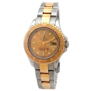 Pre-Owned Lady's Rolex Two tone Yachtmaster