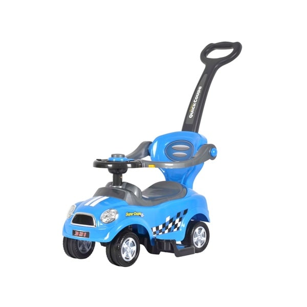 Best Ride On Cars Mini 3 in 1 Push Car Blue