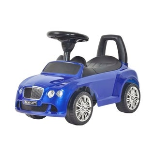 Best Ride on Cars Bentley Push Car Moroccan Blue