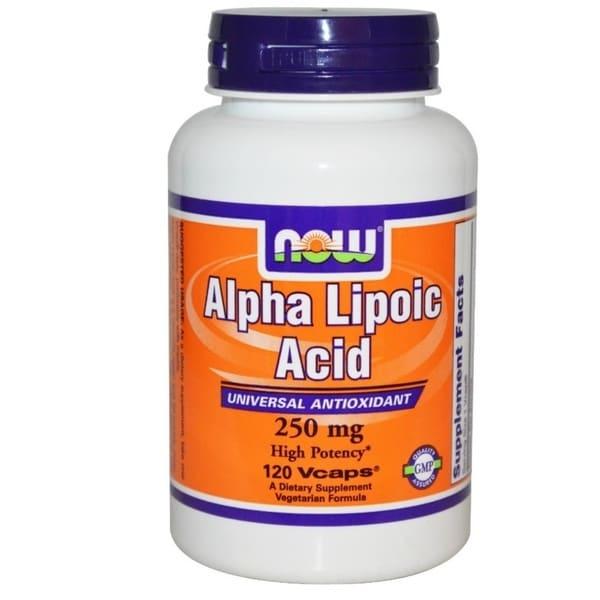 Now Foods Alpha Lipoic Acid (120 Vcaps)
