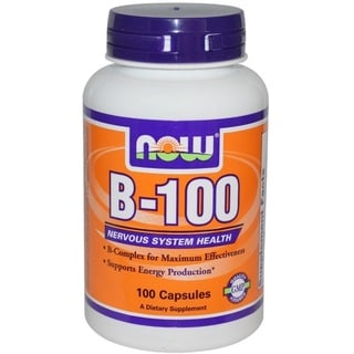 Now Foods B-100 Vitamin B-Complex (100 Capsules)