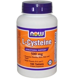 Now Foods L-Cysteine (100 Tablets)