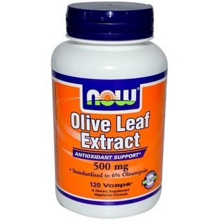 Now Foods Olive Leaf Extract (120 Vcaps)