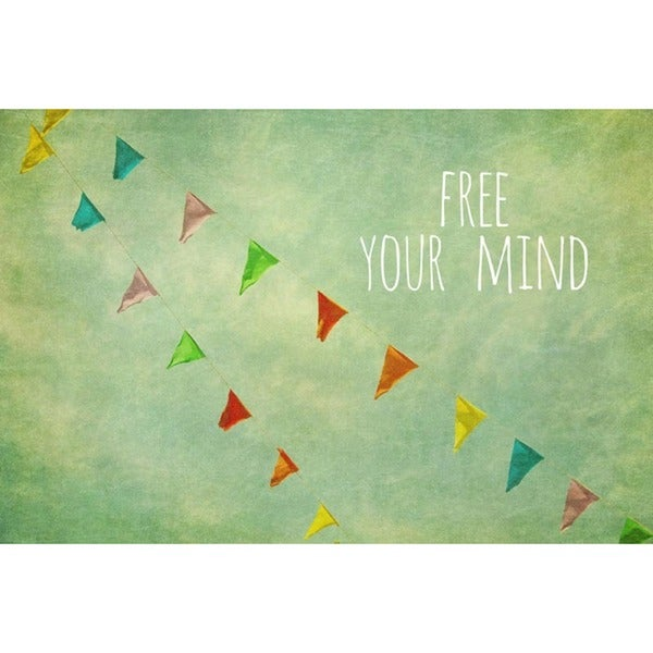 Marmont Hill 'Free Your Mind' Canvas Art