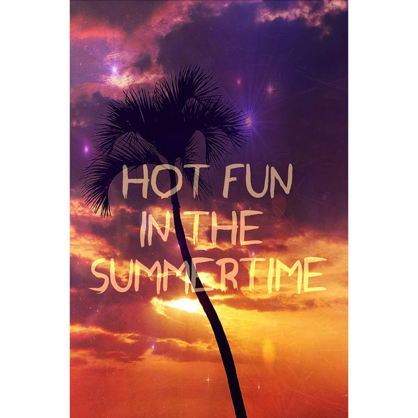 Marmont Hill 'Hot Fun In The Summertime' Canvas Art