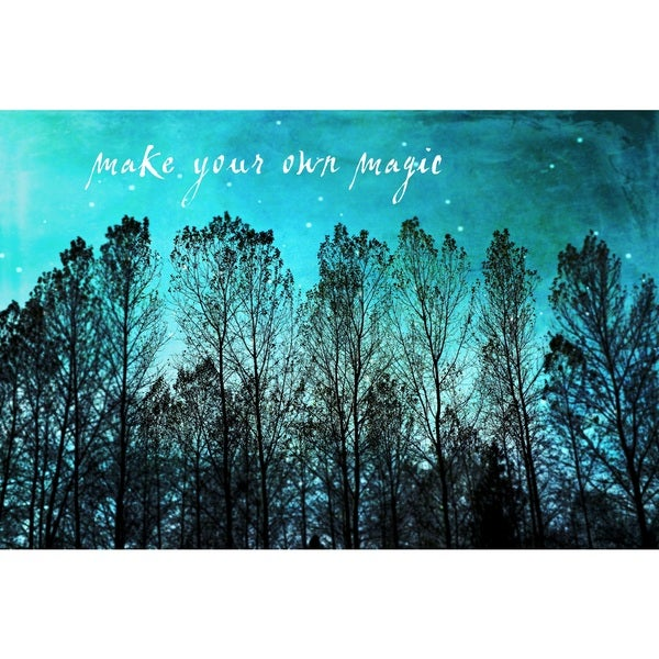 Marmont Hill 'Make Your Own Magic' Canvas Art