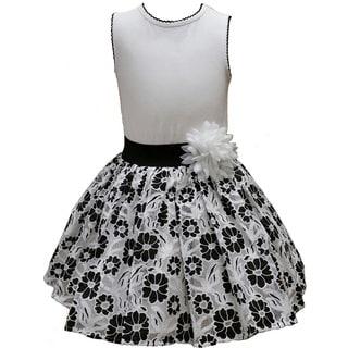 Mia Juliana Baby Girls' Drop Waist Lace Dress