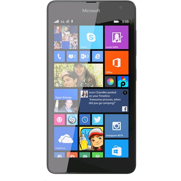 Microsoft Lumia 535 8GB 5-inch Unlocked GSM 3G Windows 8.1 Smartphone