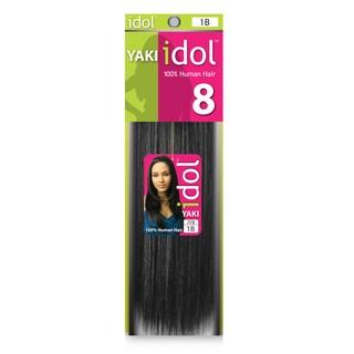 Idol Yaki Weaving 8-inch 100-percent Human Hair