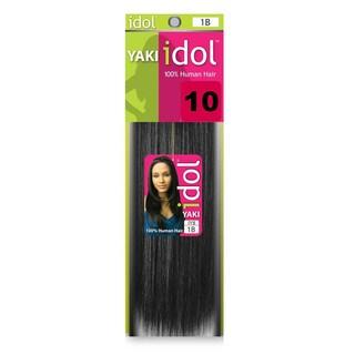 Idol Yaki Weaving 100-percent Human Hair (2 Pack)