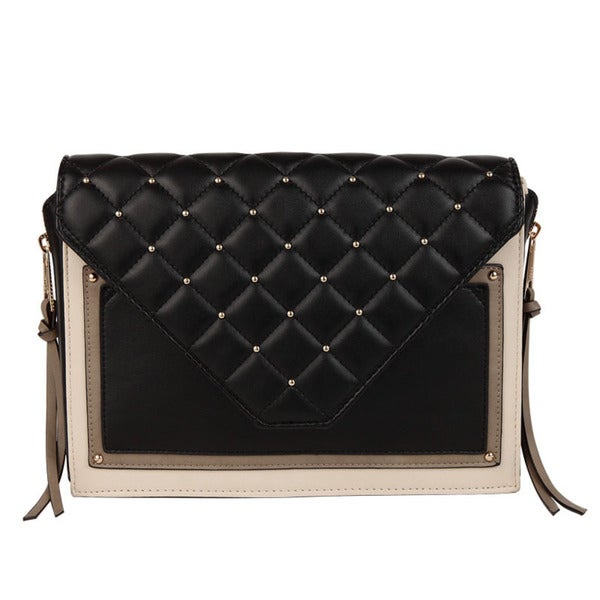 Melie Bianco Sandy Quilted Clutch