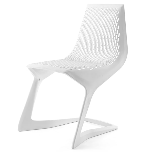 Kick Chair In Light Grey (Set Of Four)