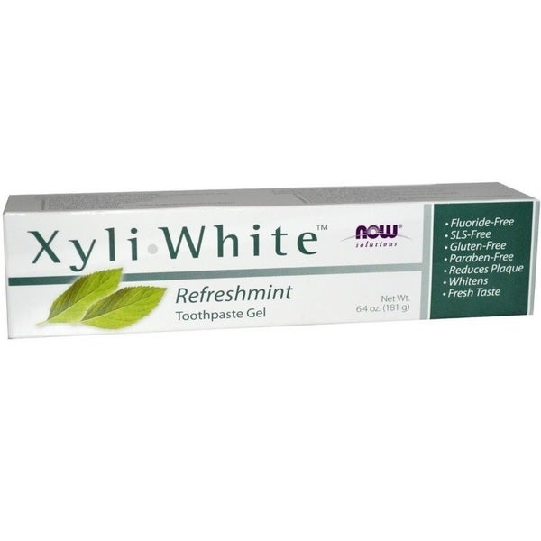 Now Foods Xyli White Refreshment Toothpaste Gel