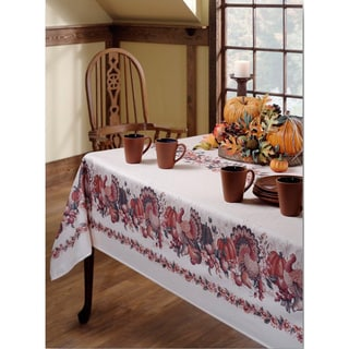 Thanksgiving Textured Tablecloth
