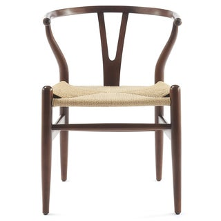 Countour Wishbone Chair In Walnut (Set Of Two)