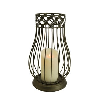 Mystique Indoor Lantern with Flameless Candle