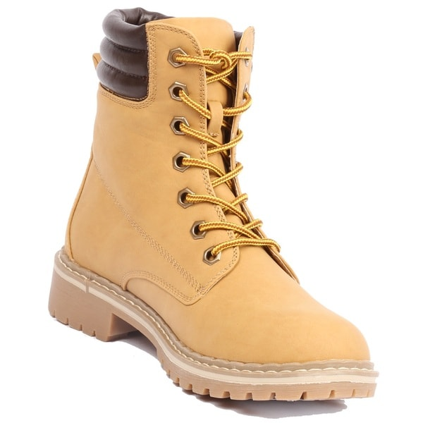 Women's Broadway-4 Quilted Upper Ankle High Hiking Boots