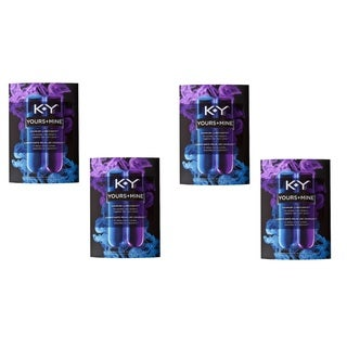 KY Yours and Mine 3-ounce Dual Lubricant (Pack of 4)