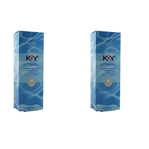 KY Ultragel Water-based 1.5-ounce Liquid Gel Lubricant. (Pack of 2)