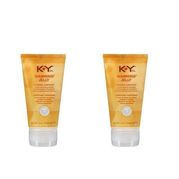 K-Y Warming Jelly 2.5-ounce Personal Lubricant (Pack of 2)