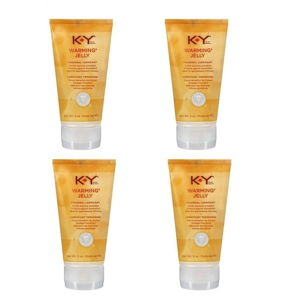 K-Y Warming Jelly 2.5-ounce Personal Lubricant (Pack of 4)