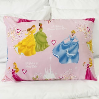 Disney Princess Hypoallergenic Down Alternative Standard Pillow
