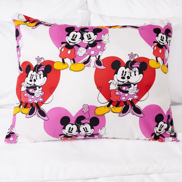 Disney Mickey and Minnie Down Alternative Hypoallergenic Pillow