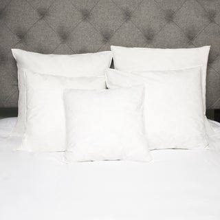 European Style Cotton Down and Feather Euro Square Pillow (Set of 2)