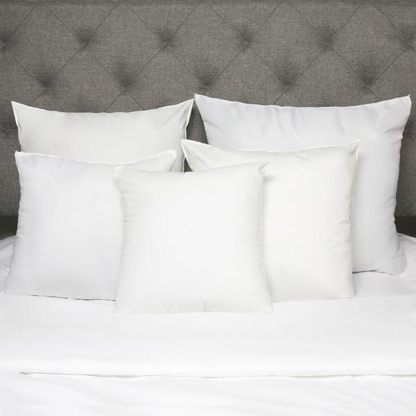 White Down Alternative Euro Square Pillow (Set of 2) 15242733