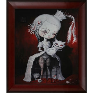 Adrian Borda I am Just a Prison for The Good Old Days Framed Fine Art Print