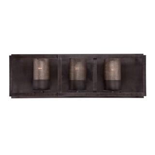 Varaluz Jackson 3-light Bath Fixture, Rustic Bronze