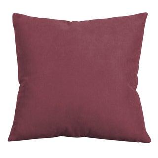 Mojo Merlot 20-inch Decorative Throw Pillow