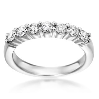 14k White Gold 3/4ct TDW Diamond Ring (H-I, SI1-SI2)