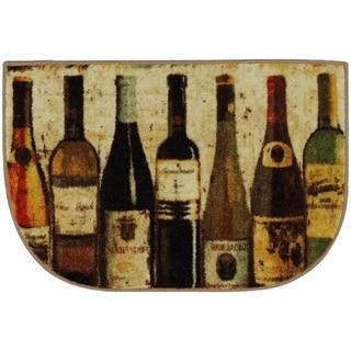 Mohawk Home New Wave Wine Row Rug (1'8 x 2'6 Slice)