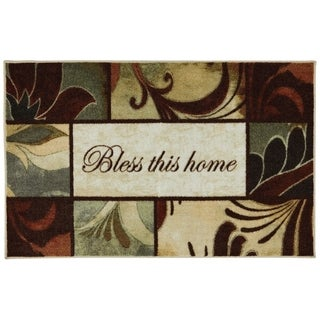 Mohawk Home New Wave Rules to Live By Printed Rug (1'8x2'6 Slice)