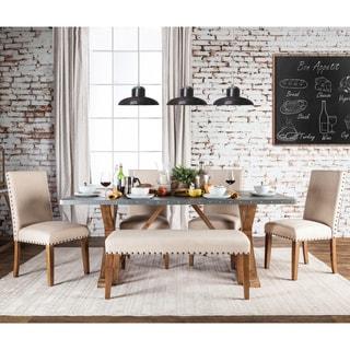 Furniture of America Aralla Industrial 6-piece Dining Set
