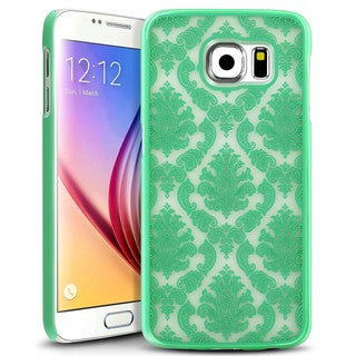 Insten Lace Hard Slim Snap-on Rubberized Matte Phone Case Cover For Samsung Galaxy S6