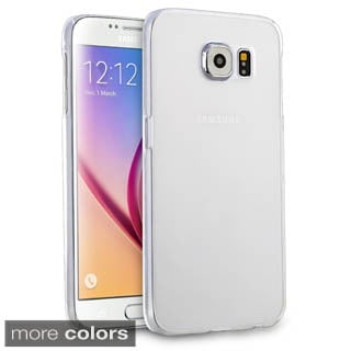 Insten Plain Hard Slim Snap-on Crystal Phone Case Cover For Samsung Galaxy S6