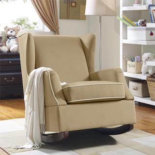 Baby Relax Hudson Camel Wingback Rocker