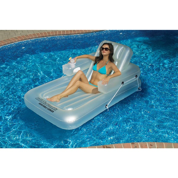 Swimline Single Adjustable Pool Lounger
