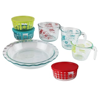Pyrex 10-piece Glass Prep, Bake and Store 100 Year Limited Edition Vintage Set