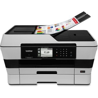 Brother Business Smart MFCJ6925DW Inkjet Multifunction Printer - Colo
