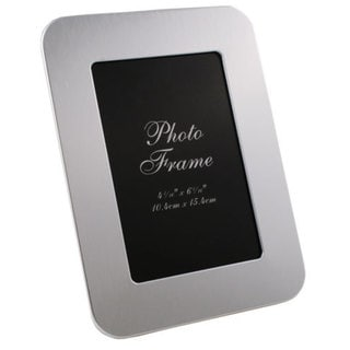 Visol Zafina Brushed Aluminium Photo Frame