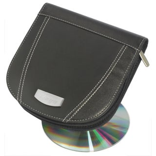 Visol Roadtrip Black Synthetic Leather CD/ DVD Case