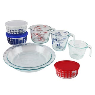 Pyrex 10-Piece Glass Prep, Bake and Store 100 Year Limited Edition Centennial Set