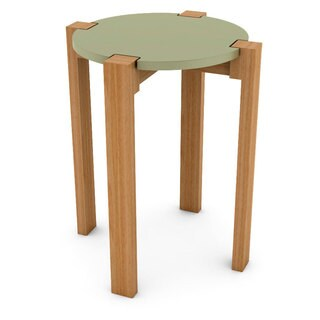 DarLiving Retro Wood Stool