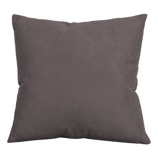 Decorative 20-inch Mojo Pewter Accent Pillow