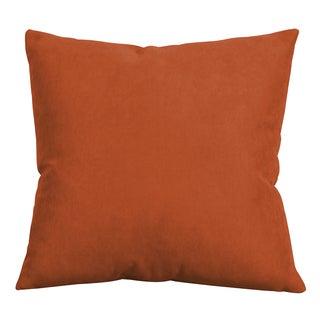Decorative 20-inch Mojo Tangerine Accent Pillow